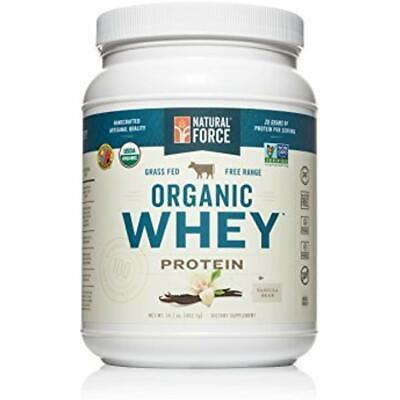 SALE Organic Whey Protein Powder *Ranked 1 Best Tasting* Grass Fed - (Best Undenatured Whey Protein)