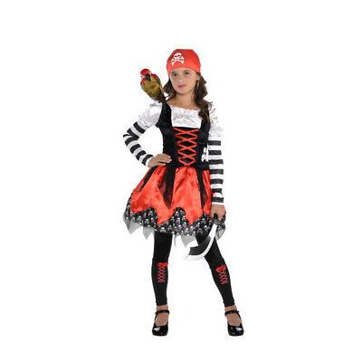 Crossbone Cutie Pirate Child Costume - Pirate Cutie Costume