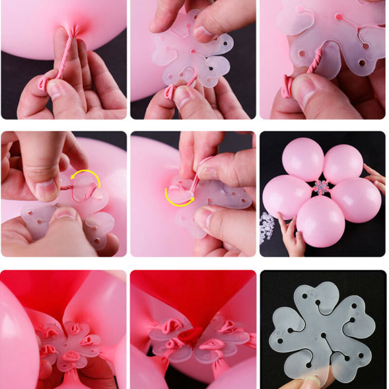 10PCS Bevorzugungen Latex Gedrucktes Volles Herz Aufblasbar Luftballons