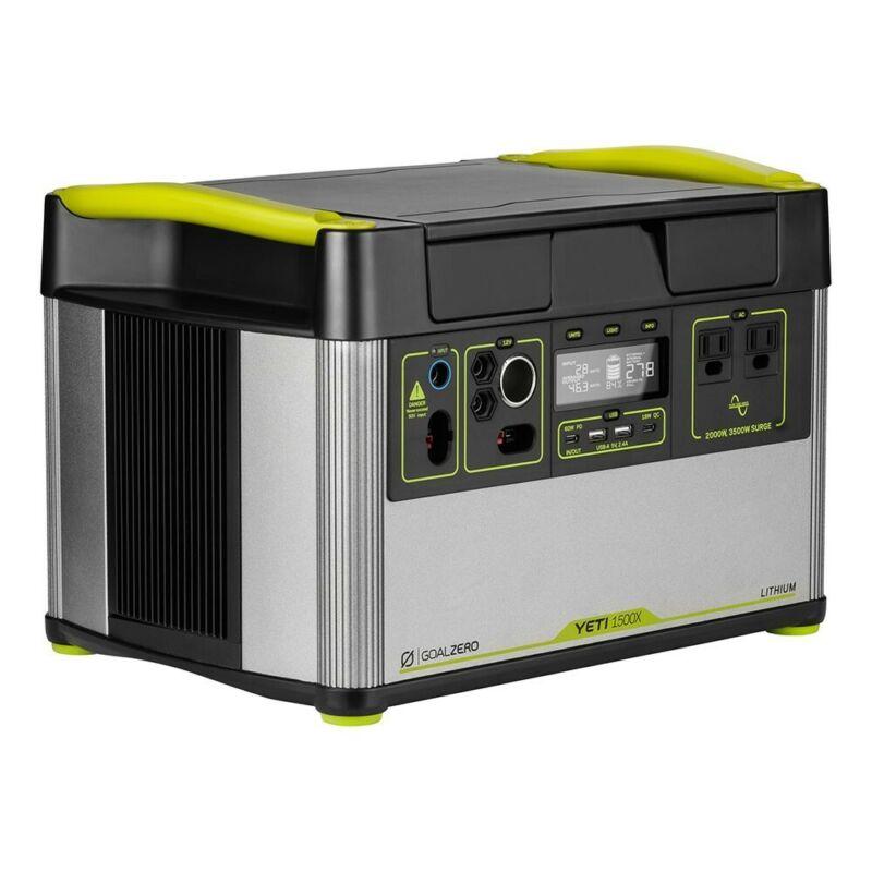 Goal Zero YETI 1500X portable power station item #36300