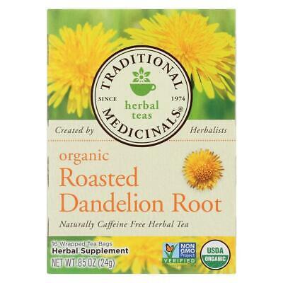 Organic Roasted Dandelion Root Tea - Caffeine Free (1 - 16 BAG)