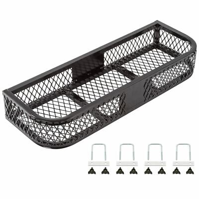 Black Widow ATVFB-3713 Front Rack ATV Steel Mesh Cargo Basket