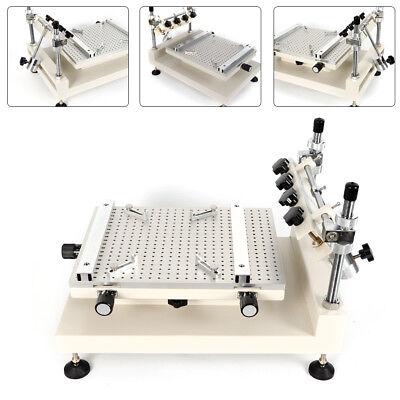 High Precision Manual Solder Paste Stencil Printer -smt Pcb Printing Machine New
