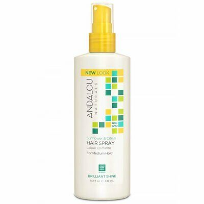 Andalou Naturals Medium Hold Hair Spray Sunflower and Citrus