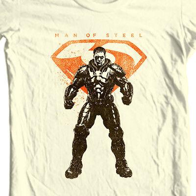 General Zod Man of Steel T-shirt DC comics movie Superman graphic tee (General Zod T Shirt Man Of Steel)