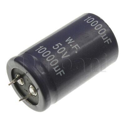 18-01-0632 Radial Electrolitic Snap In Capacitor 50v 10000uf 85c 30x50mm