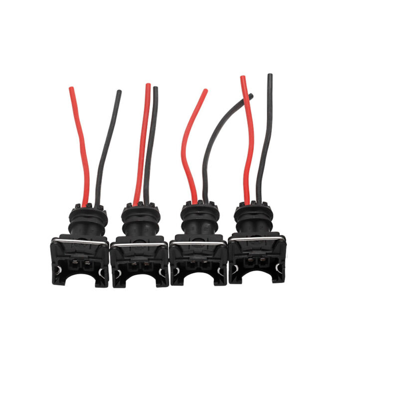 wiring loom harness clip wiring 8pcs fuel injector connector ev1 obd1 plug wire harness pigtail  8pcs fuel injector connector ev1 obd1