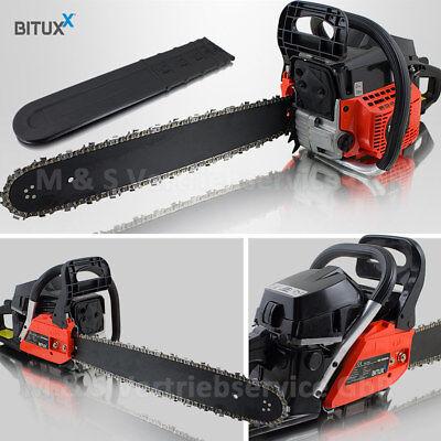 BITUXX® Benzin Kettensäge Motorsäge 58ccm Motorkettensäge 3,6 PS 50,8cm 20 Zoll