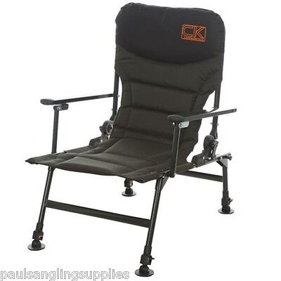 Carp Kinetics Deluxe Carp Fishing Recliner Chair With Arms