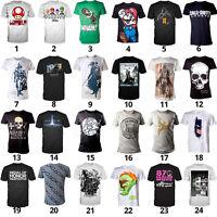Gioco T-shirt Di Nintendo, Super Mario, Cod, Assassin's Creed, Sony, Halo Uvm - sony - ebay.it