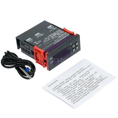 10A 12V Digital Temperature Controller w/Sensor Thermostat Switch -40~120°C UK