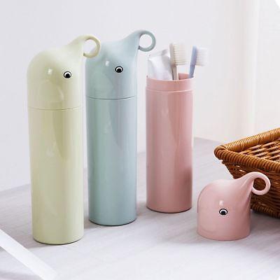 - Case Mouthwash Mug Elephant Couple's Toothbrush Holder Household Storage Cup