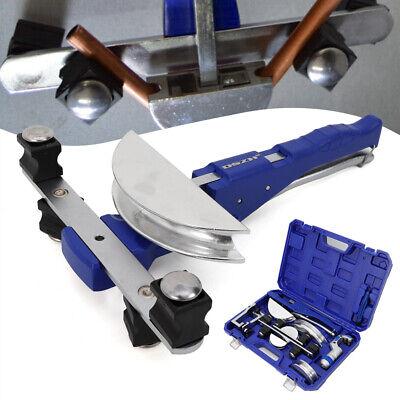 Hvac Refrigeration Ratchet Tube Bender Pipe Cutter Copper Aluminum Tubing Set