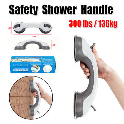 - Shower Suction Cup Grip Handle Handrail Bathtub Mount Grab Bars Safety Non Slip
