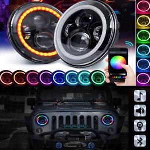 For Jeep Wrangler Headlight 7