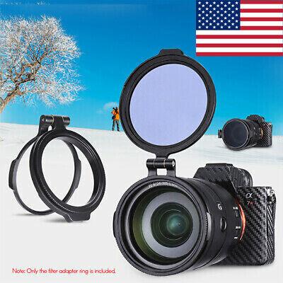 UURIG R-67 67mm Rapid Filter System Camera Lens Filter Metal Adapter Ring C5N5