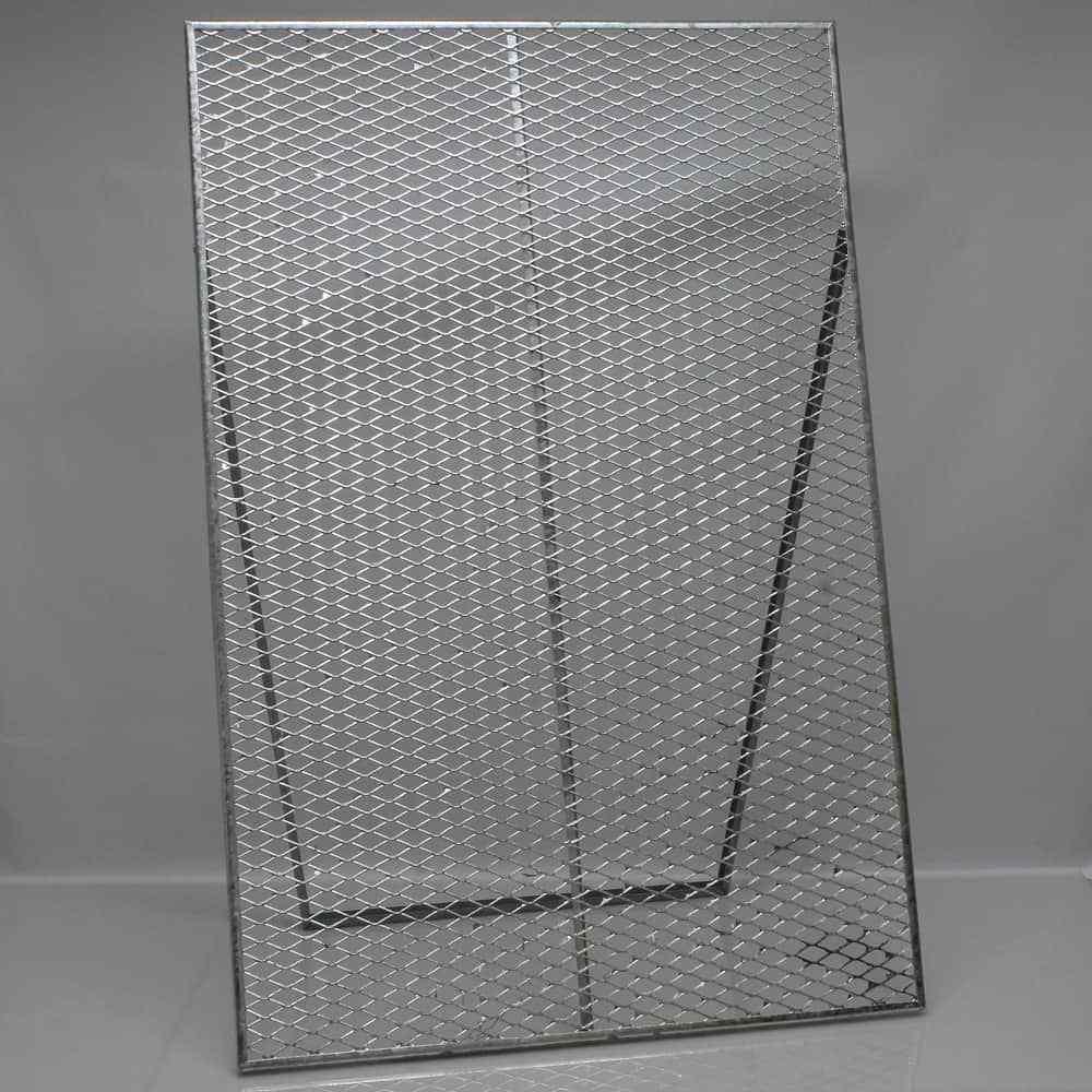 Durchwurfsieb Gitter 120x80 cm Kompostsieb Sieb Durchwurfgitter Garten [25078]
