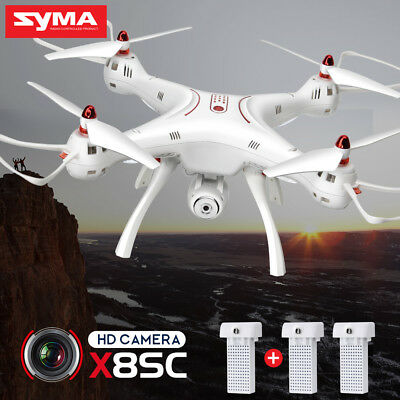 SYMA X8SC RC Drones 2MP HD Camera 4G Quadcopter Altitude Hold Headless Mode UK
