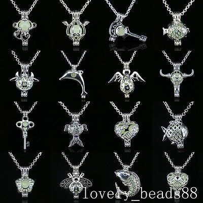 Wholesale 71 Styles Punk Animal Pendants Necklaces Glow In The Dark Jewelry Gift (Glow In Dark Necklaces Wholesale)