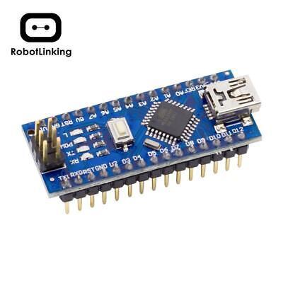 Nano Board CH340/ATmega328P Without USB Cable, Compatible with Arduino Nano V3.0