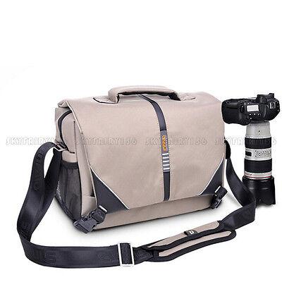 DSLR Camera Shoulder Messenger Bag Case Shockproof For Nikon Sony Canon Pentax
