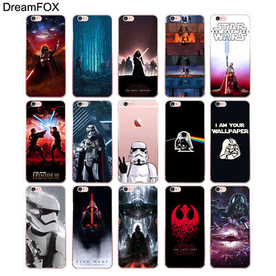 Star Wars Cover Soft TPU Case For iPhone X XR XS Max 8 7 Plus 6 6S Plus 5S SE