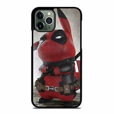 PIKACHU DEADPOOL iPhone 6/6S 7 8 Plus X/XS Max XR 11 Pro Max Case Cover
