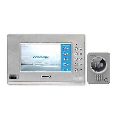 Commax LCD 7 inch Wide Color Intercom CAV-71AM Door Camera DRC-41QC HomeSecurity