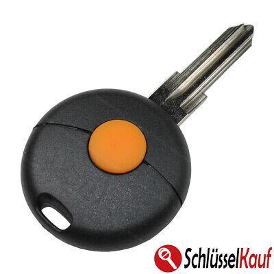 Autoschlüssel 1 Tasten Gehäuse Fernbedienung passend für Smart Fortwo 450 NEU Fernbedienung Autoschlüssel