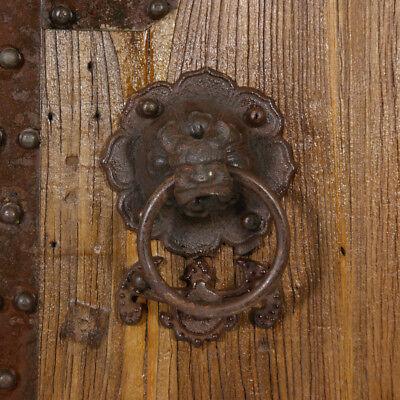 Купить Chinese Antique Massive Court Yard Doors Panel 27P01-4