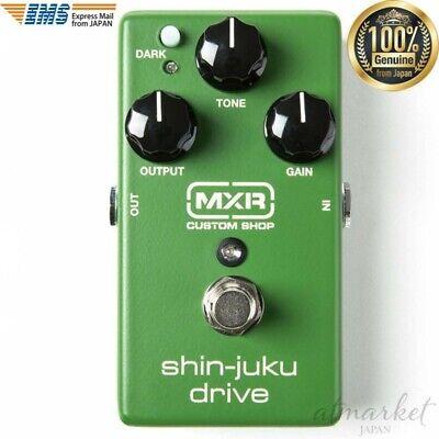 MXR CUSTOM SHOP Shin-juku drive CSP035 Green effector Shin's Music from JAPAN