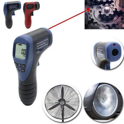 Handheld Digital Laser Photo Tachometer Non-contact Tester Meter Speed Gauge Hot