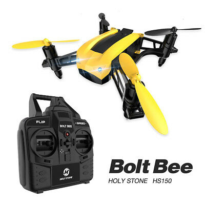 Bolt Bee Mini Holy Stone HS150 Racing Drone RC Quadcopter 50km/h High Speed