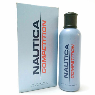 NAUTICA COMPETITION (Blue) 4.2oz / 125ml After Shave Men Rare Discontinued (IA28