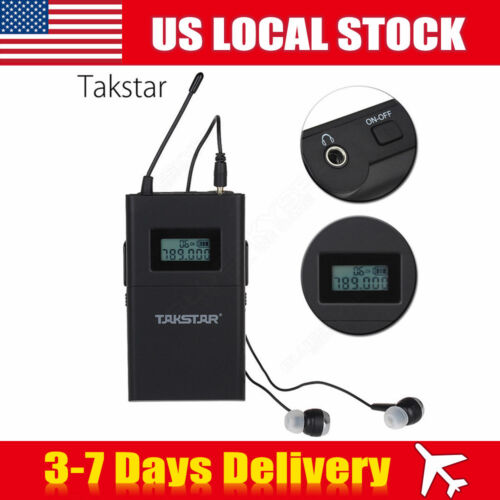 Takstar WPM-200 UHF Wireless Headphone Monitor System Stereo