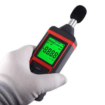 Db Sound Meter Noise Decibel Level Tester Digital Voice Measurement Lcd Display