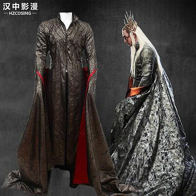 HZYM The Hobbit Elves King Thranduil Cosplay Costume Deluxe Outfit Custom Made](The Hobbit Elf Costume)