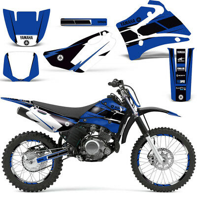 Yamaha TTR125 Decal Graphic kit Dirt Bike MX Motocross TTR 125 2000-2007 HURR U Bike Decal Kits