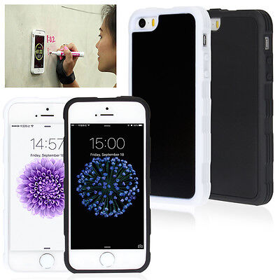 Anti-Gravity Selfie Sticky Nano Magnetic Case Cover For Apple iPhone 6/6S/7 Plus