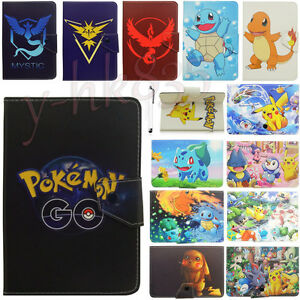 Pokemon-Go-Game-Pikachu-Leather-Stand-Cover-Case-For-Universal-7-Inch-Tablet-PC