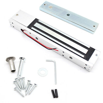 - 600Lbs Holding Force Electric Magnetic Lock Door Security System 12V Waterproof!