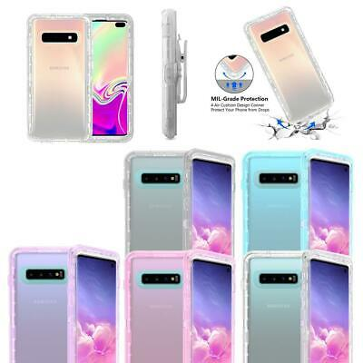 For Samsung Galaxy S10/S10E/S10 Plus Clear Defender Cover Case Fit Otterbox Clip Clear Cover Case Clip