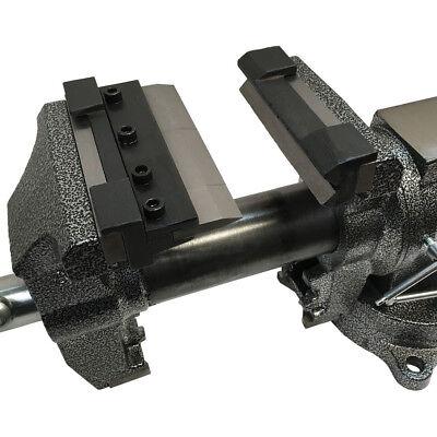 "Vise Mount W/ 14 Gauge Mild Steel 1/8"" Aluminum 5"" Press Brake Bender Bending"