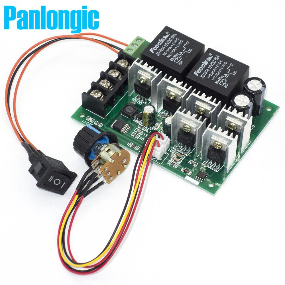 20A PWM DC Motor Drehzahlregler Controller Schalter 12V Max 1200W X2D3 48 P4Q7