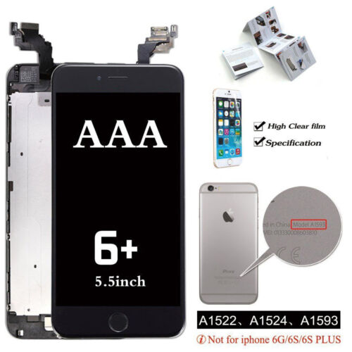 OEM iPhone 7 8 6s 6 Plus LCD Touch Screen Replacement Digitizer with Home Button