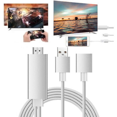 Mini USB MHL To HDMI 1080P TV Adapter Cable For Samsung Galaxy S7 Advantage iPhone US