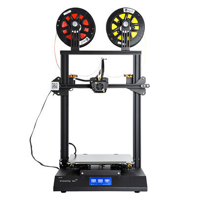 Used Creality CR-X 3D Printer Dual-Extruder Color Mean Well Power 300X300X400mm