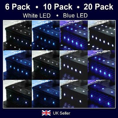 MiniSun LED Decking Light Kits Outdoor Garden Plinth Lights Soffit Lighting IP65