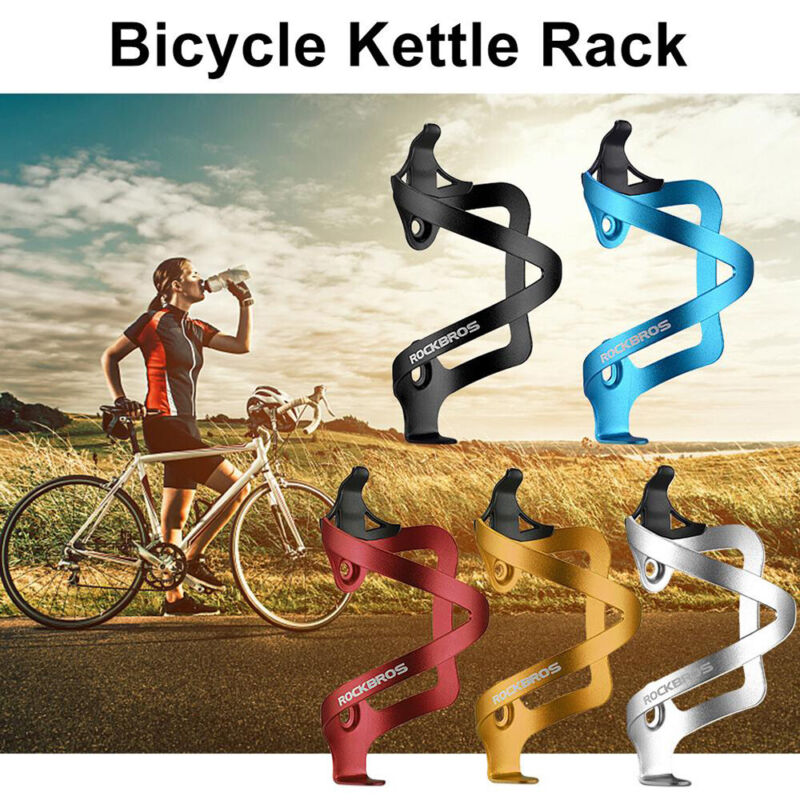 Bicycle Water Bottle Cage Drink Cup Holder Rack Mountain Bike Cycling MTB Part