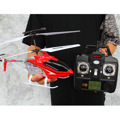 SYMA S39 3Channel RC Helicopter 2.4G Remote Control Motion Outdoor Toy AU STOCK